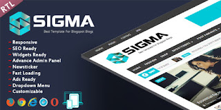 Sigma RTL Blogger Template