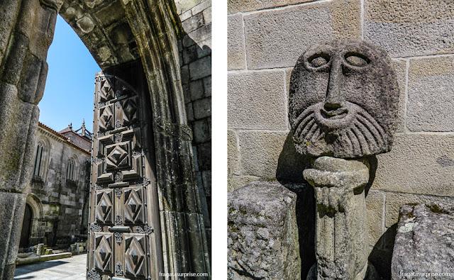 Achados arqueológicos na Sé de Braga, Portugal