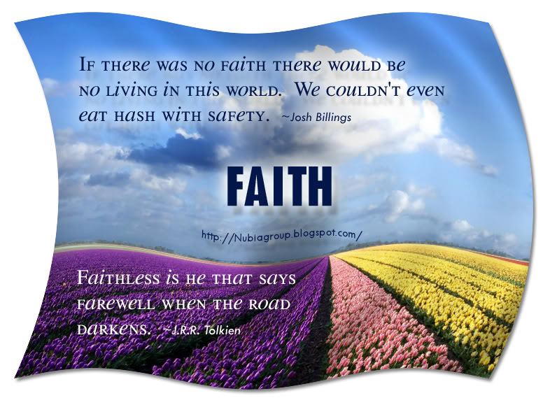 Nubia Group Inspiration Best Of Faith Quotes