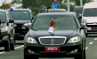 Pelat kendaraan RI 1 dipakai untuk Presiden Indonesia, tahukah sobat nomor yang lain?