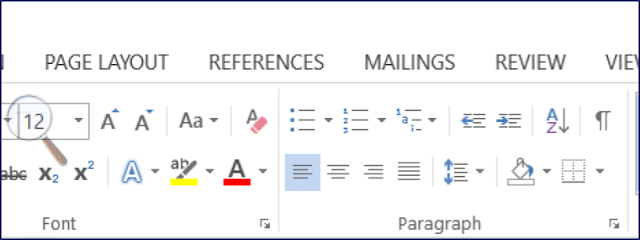 paragraphing in microsoft word #rean #computer101