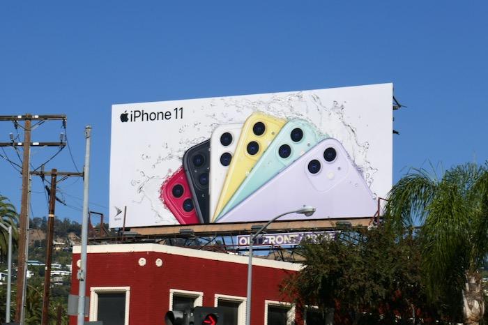 Apple iPhone 11 billboard