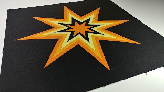 Starburst free quilt pattern
