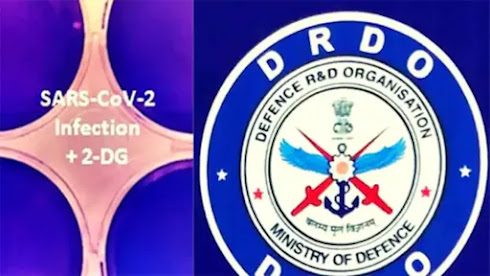 DRDO developed Covid patients drug 2DG released by Health Minister