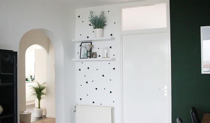 Leuke én makkelijke budgettip: muurstickers op je muur (+winactie!)