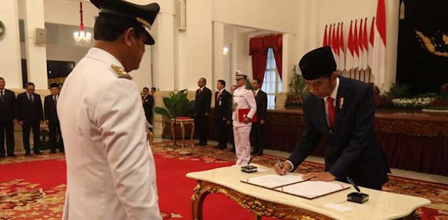 Jokowi Nekat Lantik Isdianto, Akibatnya Bisa Dilengserkan Atau Elektabilitas Terkuras