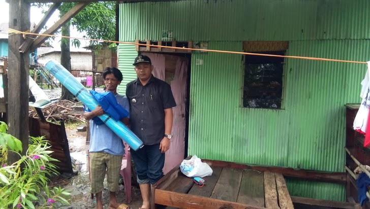 Mappaturung, S.Sos,Peduli  Terhadap Warga Miskin di Wilayahnya