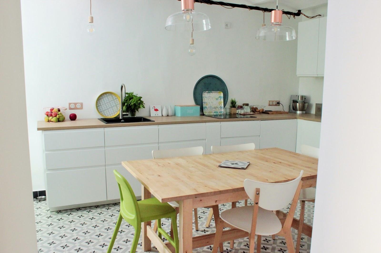 Cuisine Ikea Voxtorp Blanc Construction Maison Notre Cuisine