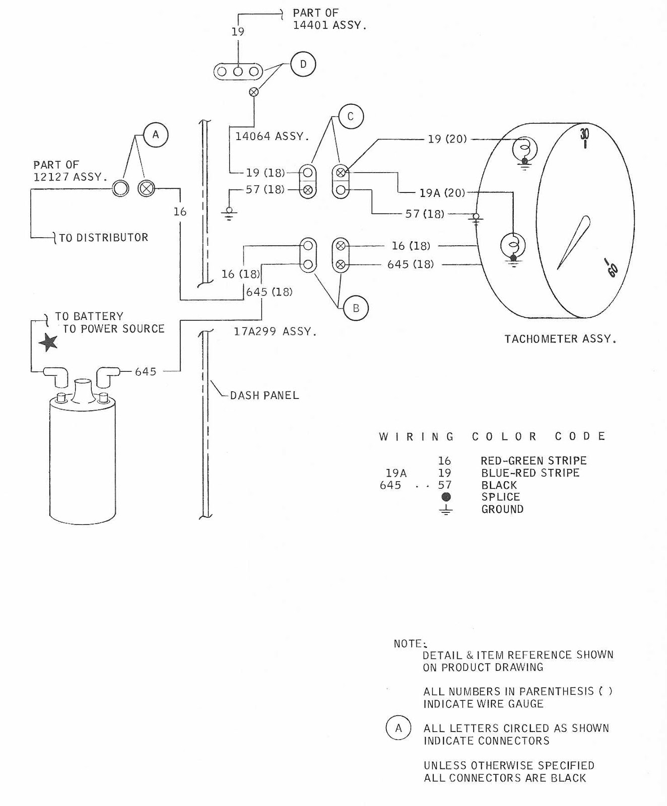 Ford Mustang 1968 Tachometer Wiring Diagram | All about ...