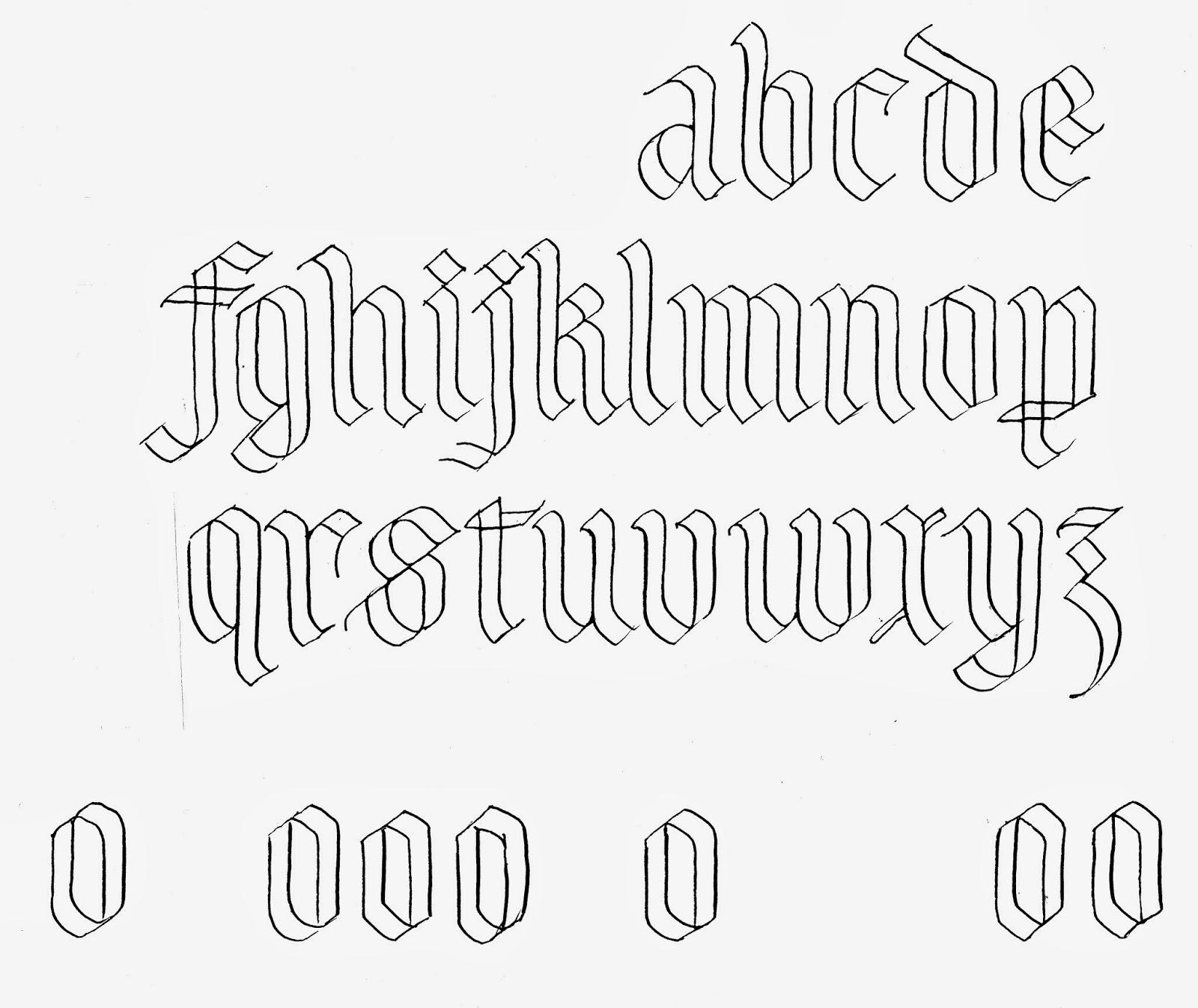Margaret Shepherd Calligraphy Blog 257 Skeletal Gothic