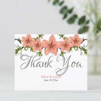 Postcard ThankYou Floral01