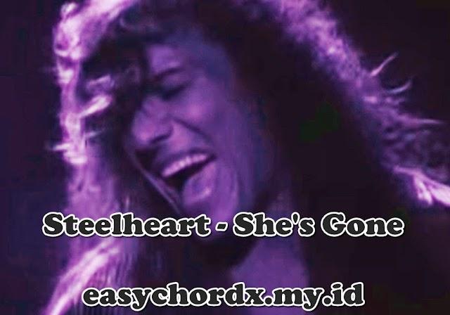 Chords Kunci Gitar Lagu - Steelheart - She's Gone