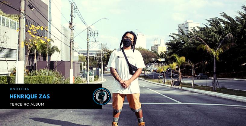 Henrique Zas libera capa e data de lançamento de seu terceiro álbum