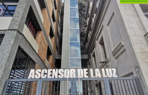 El Ascensor de La Luz continuará siendo gratuito hasta mejorar la situación sanitaria en la isla