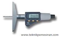 micrometer dalam alat mengukur kedalaman