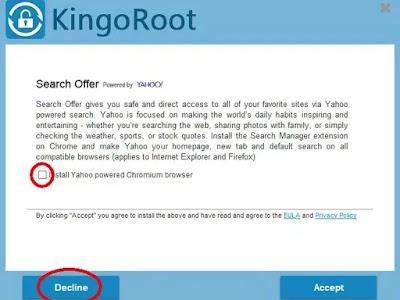 خطوات تفعيل KingoRoot في الجهاز الكمبيوتر