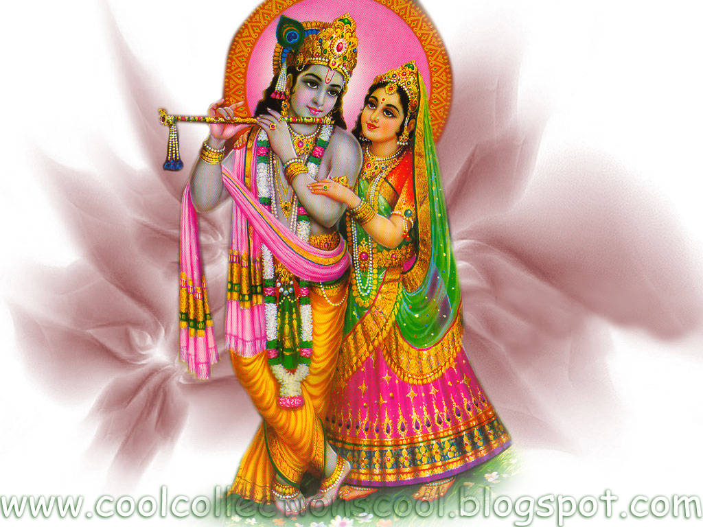 Wallpapers Name: Radha And Krishna's Romantic Love Story