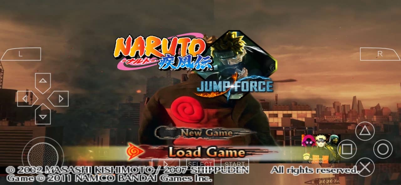 Naruto Jump Force Mod PSP ISO Download