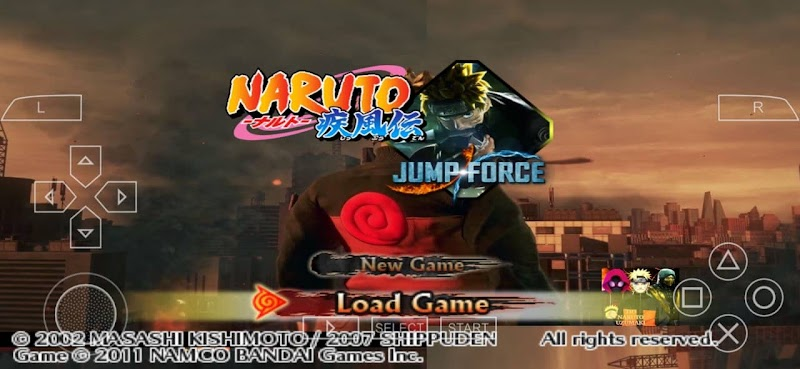Jump Force PPSSPP ISO Naruto Ultimate Ninja Impact Mod Download
