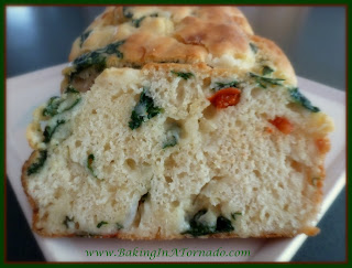 Veggie Bread, a quick bread made with fresh vegetables | Recipe by Baking In A Tornado http://www.bakinginatornado.com/2014/11/ten-hours-of-my-life.html | #recipe