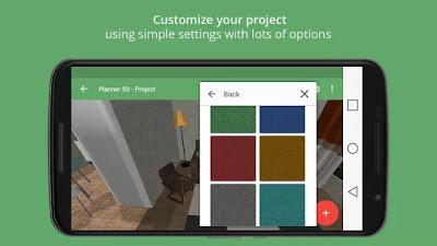 تطبيق تصميم المنازل Planner 5D - Interior Design النسخة الكاملة للاجهزة الاندرويد