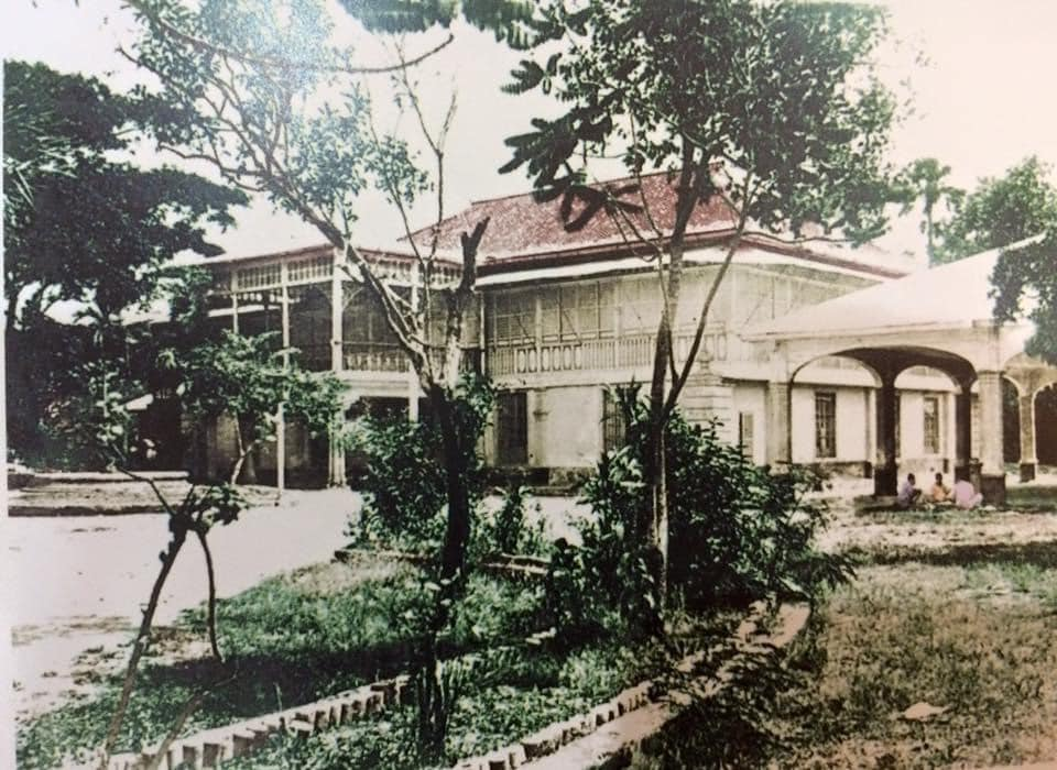 he old mansion of the Perez-Samanillo Family where De La Salle College first opened its doors