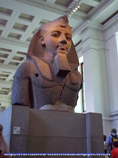 Estatua de Ramsés II en el British Museum