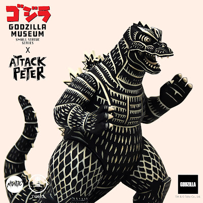 San Diego Comic-Con 2021 First Look: Godzilla Museum Attack Peter Statue by Mondo