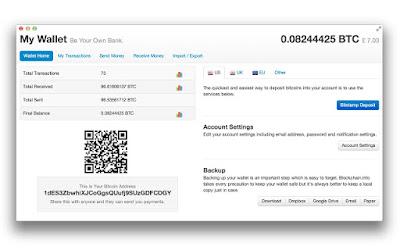 create a Blockchain Wallet