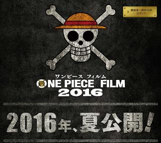 Movie 13 One Piece Film Gold Tayang Juli 2016