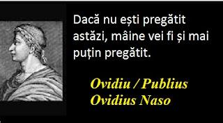 Citatul zilei: 20 martie - Ovidiu / Publius Ovidius Naso