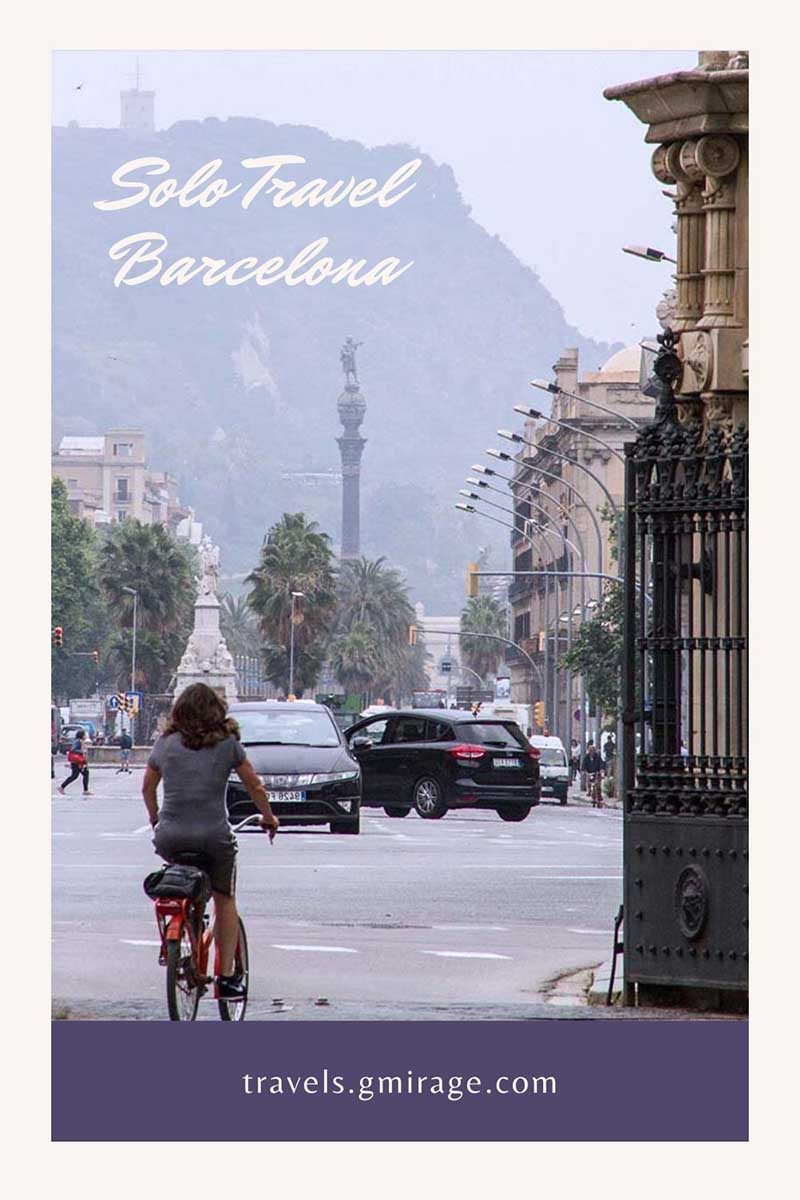 How to Solo Travel in Barcelona