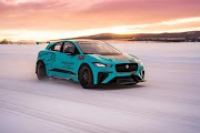 Jaguar I-PACE eTROPHY in cold weather tests