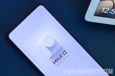 Update Xiaomi MIUI 12 Stable