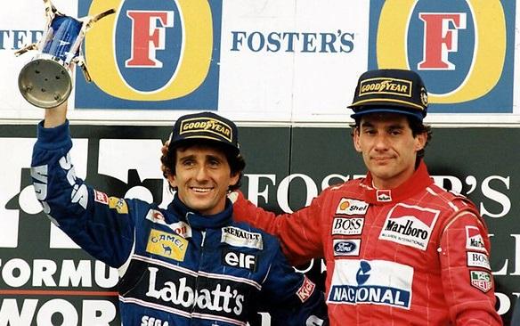 Alain Prost y Ayrton Senna, grandes rivalidades deportivas de la historia