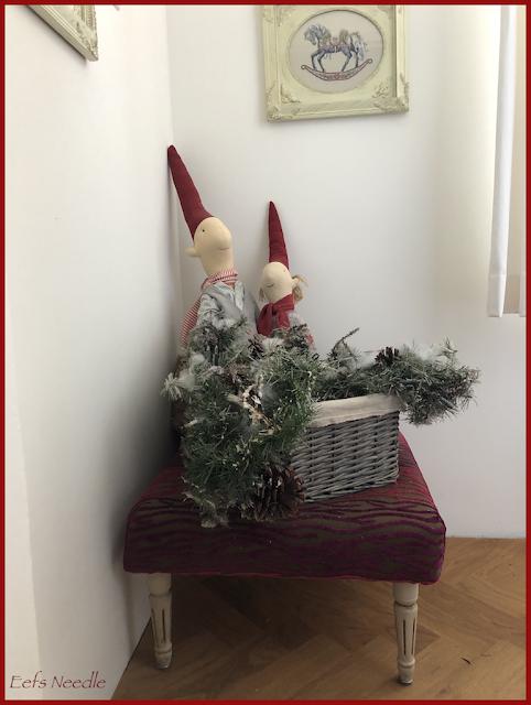 een beetje kerstfeer met mijn Maileg's