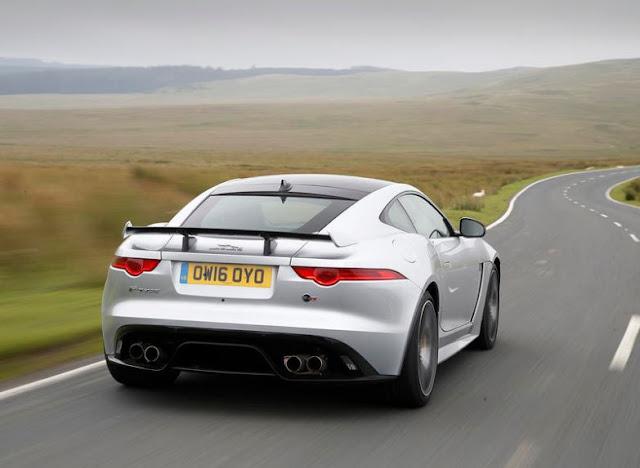 2016 latest Jaguar F-Type SVR UK reviews