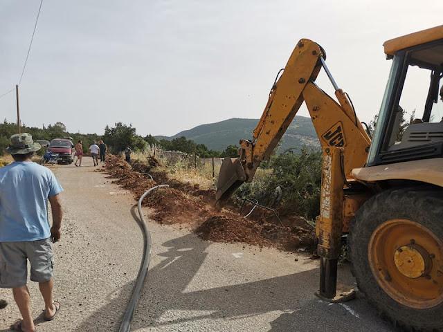 Λύση από τον Δήμαρχο Ερμιονίδας για την υδροδότηση στο Λουκαΐτι