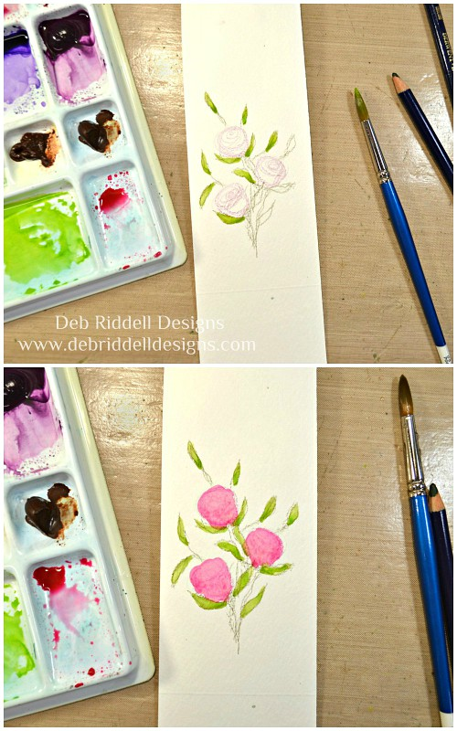 Beautiful Moments Watercolour Tutorial