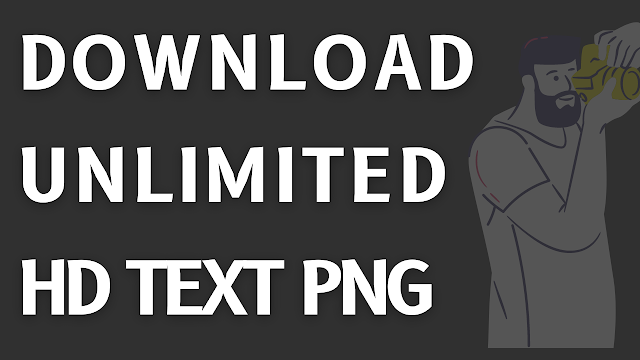 Text Png Zip File Download | Png Text Download For Pics Art | Download Premium Text Png For Editing