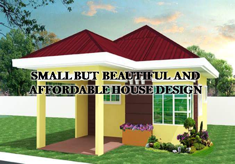 Small But Beautiful And Affordable House Design Bahay Ofw