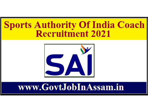 Sports Authority Of India Coach Recruitment 2021 :: Apply Online For 320 Vacancy