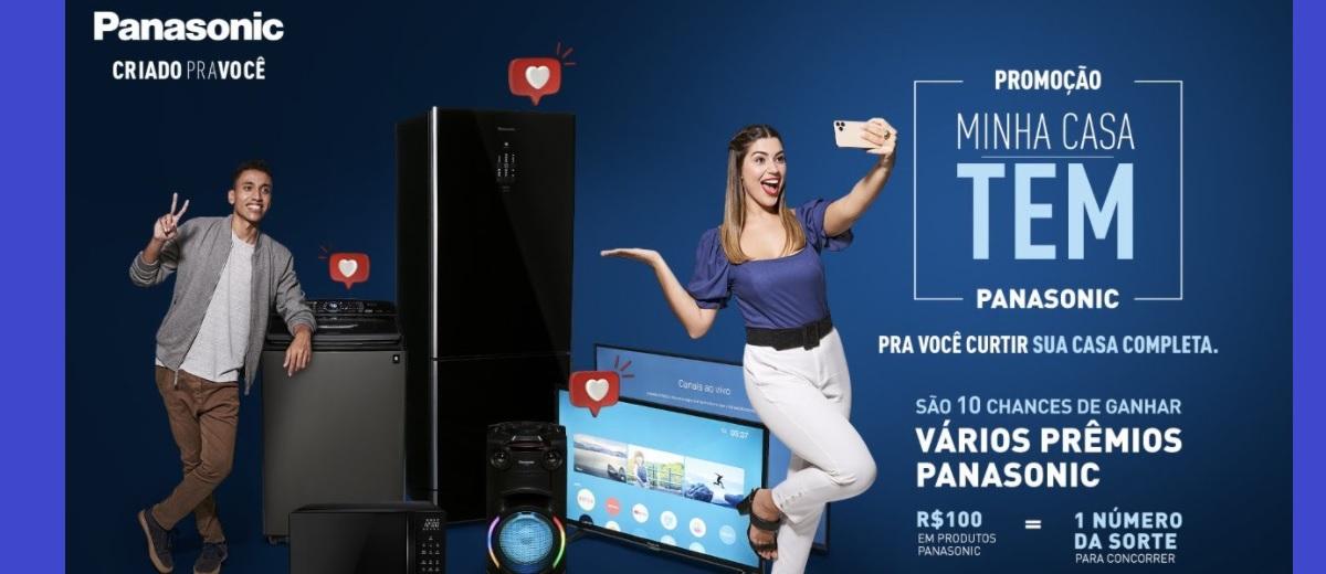 Promoção Produtos Panasonic 2020 Minha Casa Tem Natal e Final de Ano
