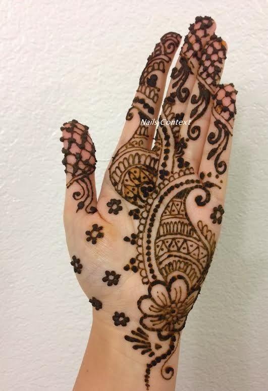 29 New Henna Designs For Palm Makedes Com