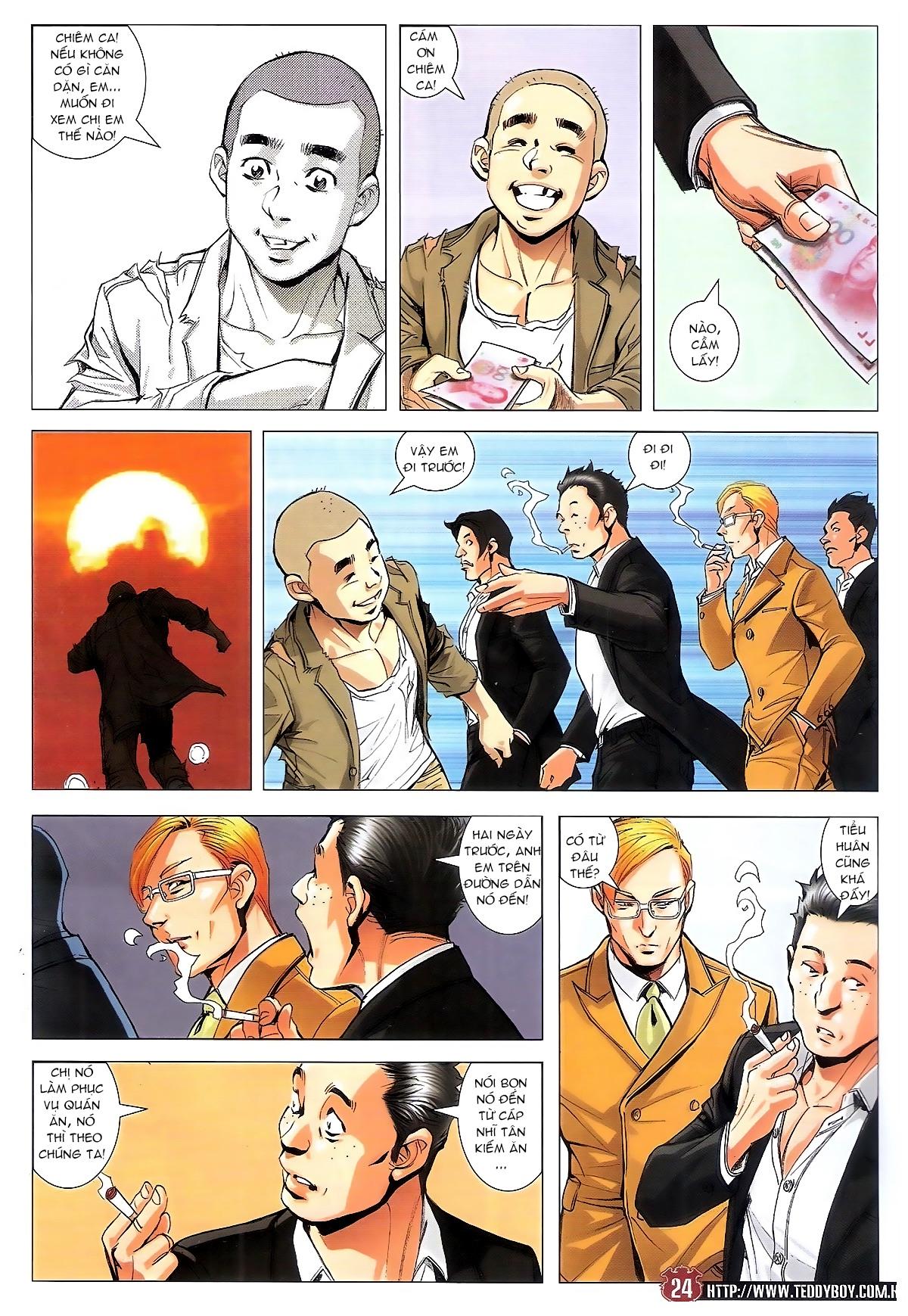 Người Trong Giang Hồ chapter 1795: hoàng tiên sinh trang 23