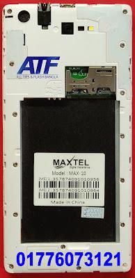 MAXTEL MAX-10 FLASH FILE FIRMWARE