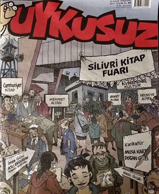 Uykusuz Dergisi | 10 Kasım 2016 Kapak Karikatürü