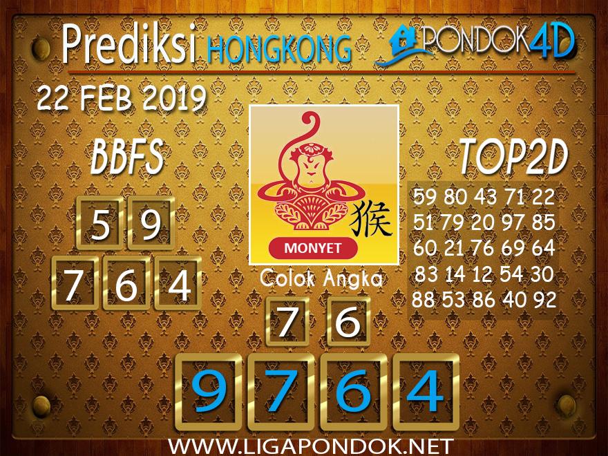 Prediksi Togel HONGKONG PONDOK4D 22 FEBRUARI 2019