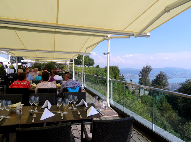 Top of Zurich - UTO Kulm Restaurant Allegra in Uetliberg