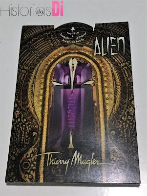 Perfume Alien,Thierry Mugler - Glambox do mês de dezembro